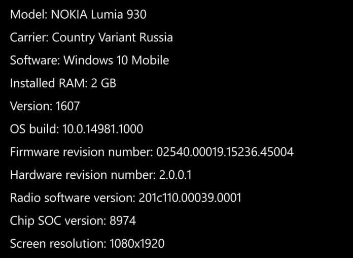 multi ventana en Windows 10 Mobile nokia