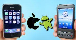 Primer iPhone vs Primer Android